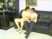 Horny Milf seducing a lucky guy!