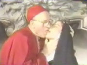 A pastor and a sexy young nun have sex!
