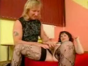 Hairy kinky wife getting a massage, and more, from the neighbours guy!