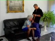 Granny having sex with the plumber...!