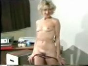 Housewive stripping and defying for her husband...!