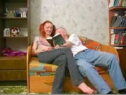 Uncle teaching a cute redhead TEEN VIRGIN everything about sex...!