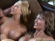 Two Neighborhood MILFs Fuck the Pool Man...!