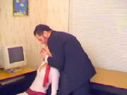 Bad teacher drugs his private student with choloroform so he can do with her what he wants...