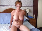 Housewife in stolen homevideo