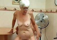 Granny fucks a young boy